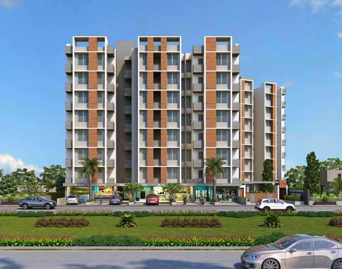2 BHK Luxurious Flats in Shilaj